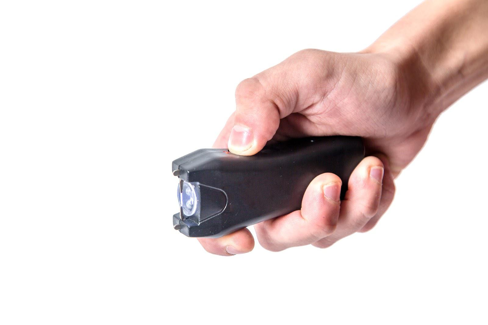 What is a taser torch and what is the penalty for bringing one into the UK